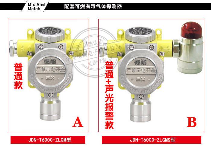 JDN-T6000-ZLGM型气体报警探测器