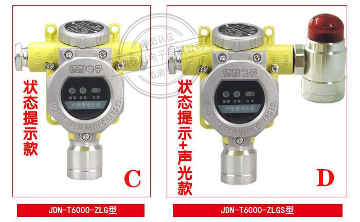 JDN-T6000-ZLG型气体报警探测器