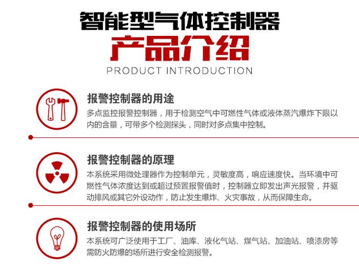 可燃气体报警器产品介绍