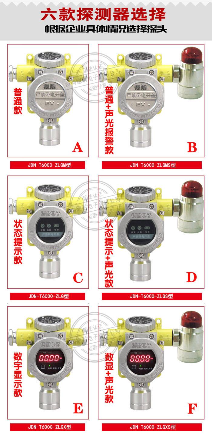 可燃气体报警器探头分类