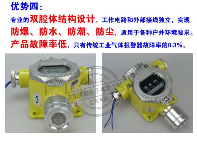可燃气体报警器为防爆型