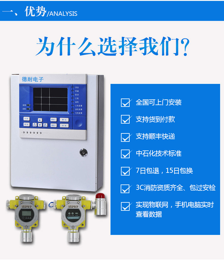 可燃气体报警器实现物联功能