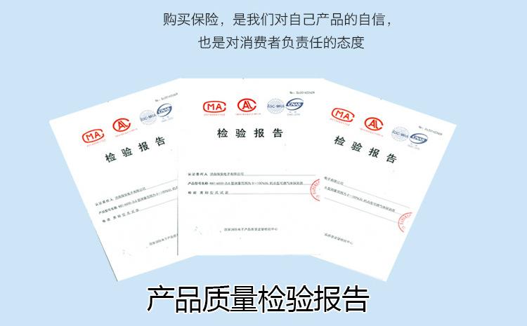 可燃气体报警器检验报告